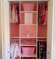 closet girls room