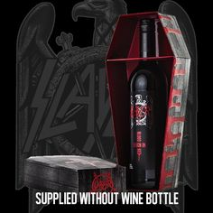 Slayer - Reign in Blood wine - I must get this!!!!