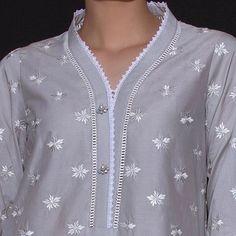 Chudidhar Neck Designs, Neckline Designs, Neck Designs For Suits, Sleeves Designs For Dresses, Dress Neck Designs, Shirt Designs, Salwar Suit Neck Designs, Kurta Neck Design, Simple Kurta Designs