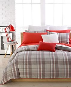 Lacoste Bedding, Luxembourg Queen Comforter Set - Bedding Collections - Bed & Bath - #macysdreamfund