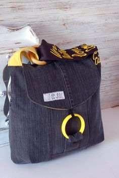 Pigeon Bag by Cul de Sac, 100% eco-friendly, handmade with reclaimed and recycled materials