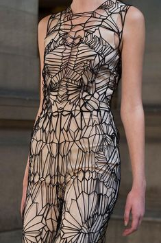 IRIS VAN HERPEN Spring Summer 2016 Collection  Paris Fashion Week: Metallic Glam | ZsaZsa Bellagio - Like No Other