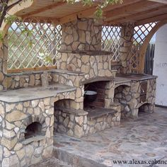 soba gril plita Outdoor Fire, Outdoor Living, Outdoor Decor, Outdoor Pergola, Backyard Pergola, Pergola Ideas, Bed Cover Design, Cupboard Lights, Front Porch Steps