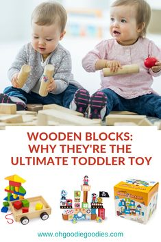 How simple wooden blocks have the biggest impact on your toddler's development. Educational Toys For Toddlers, Toddler Activities, Child Love, Baby Love, Wooden Blocks Toys, Toddler Development, Popular Toys, Toddler Toys, Kids Playing
