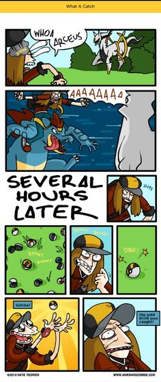 This would be the biggest troll in Pokemon history if this happened in the game