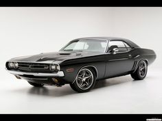 Challenger memories. I owned a four-barrel 340 HP blue and white one in 1975. Hydraulic clutch. Gas guzzler. That is the only time I got more attention for my car than for my slutty behavior.