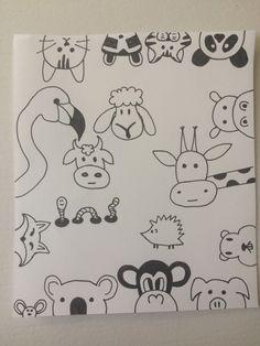 Draw Doodles Animals