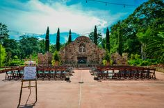 Gorgeous wedding ceremony venue at the Madera estates!  by COMPLETE weddings + events