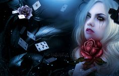 Alice in DarkLand by Fae-Melie-Melusine.deviantart.com on @DeviantArt