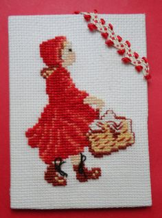 farandole des mois : le petit chaperon rouge