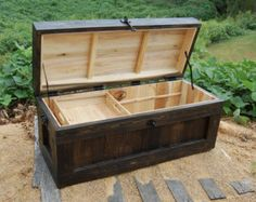 Merveilleux Large Hope Chest/ Coffee Table/ End Of The Bed Bench/ Entry/ Storage