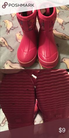 Circo rain boots Sz XL- approx 13. Only worn a few times. Circo Shoes Rain & Snow Boots
