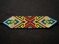 Beadwork, Friendship Bracelets, Diy And Crafts, Beaded Bracelets, Jewelry, Handmade Bracelets, Amor, Loom Bracelets, Fabrics