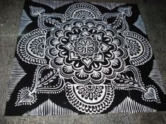 */ */ */ * Happy Blogging * / * / * / *: * Colourless Ranagavalli /Rangoli/Kolam