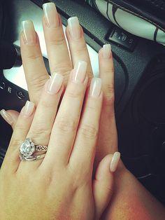 Pearl Acrylic Nails