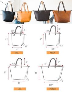 61 new ideas sewing to sell ideas friends Leather Bags Handmade, Handmade Bags, Leather Purses, Leather Handbags, Leather Totes, Sacs Tote Bags, Leather Bag Pattern, Sewing To Sell, Bag Patterns To Sew