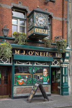 M.J. O'Neill (bar & restaurant), Dublin, Ireland