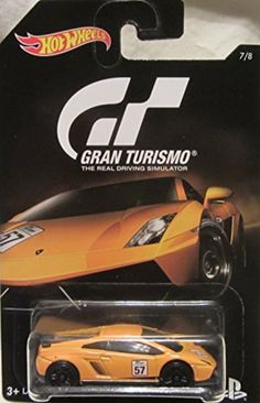 2016 Hot Wheels GRAN TURISMO LAMBORGHINI GALLARDO LP 570-4 SUPERLEGGERA Limited Edition 1:64 Scale Collectible Die Cast Metal Toy Car Model! by LAMBORGHINI -- Awesome products selected by Anna Churchill