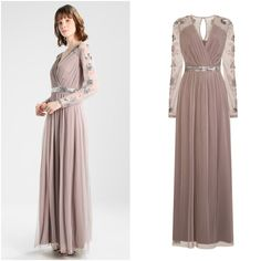 Frock and Frill Braylee Wrap Maxi Evening Dress Embellished Special Occasion NEW Bridesmaids, Bridesmaid Dresses, Wedding Dresses, Frock And Frill, Party Dresses, Formal Dresses, New Outfits, Frocks, Special Occasion