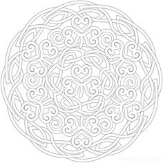 66 Best Celtic Coloring Designs Images On Pinterest