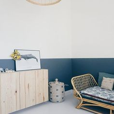 Live Loud Girl - Interior styling, lifestyle and so much Half Painted Walls, Half Walls, Boys Room Decor, Boy Room, Bedroom Wall, Kids Bedroom, Demis Murs, Cheap Dorm Decor, Nautical Bedroom