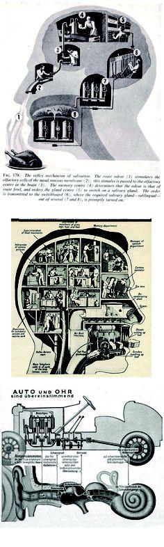Póster Imagen Póster Médico Abstracto Arte Fritz Kahn Máquina Hombre Alemán