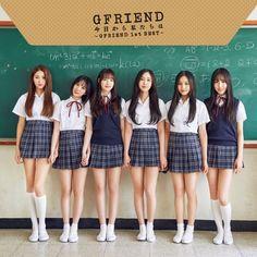Check out GFriend @ Iomoio School Uniform Fashion, School Girl Outfit, Girl Outfits, Cute Outfits, Kpop Girl Groups, Korean Girl Groups, Kpop Girls, Look Girl, My Girl