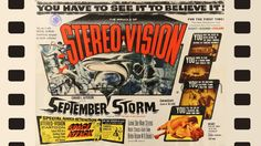 Save SEPTEMBER STORM Help us restore this lost classic AND CinemaScope movie to digital cinema and Blu-ray before it's too late. Cinema Posters, Movie Posters, Mark Stevens, Fox Movies, Digital Cinema, Indie Films, Sight & Sound, Latest Movies, Vintage Movies