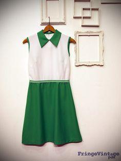 LOVE, LOVE, LOVE this vintage tennis dress!