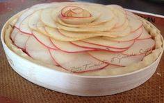 Petite Fourchette et Grande Cuillère: Tarte aux pommes à la fève Tonka, clin d'œil à Phi...