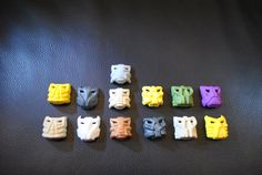 Large Collection of Vintage Lego Bionicle Helmets by VerbaniaGames