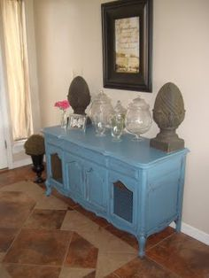 Enchantresses old stereo console gets a makeover My Furniture, Refurbished Furniture, Repurposed Furniture, Furniture Projects, Furniture Making, Furniture Makeover, Painted Furniture, Vintage Record Player Cabinet, Stereo Cabinet