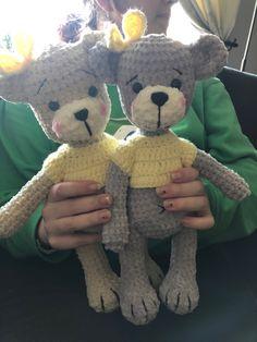 Crochet Teddy, Crochet Toys, Crochet Animals, Cute Dogs, Teddy Bear, Classic, Inspiration, Gifts, Amigurumi