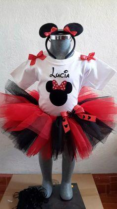 Tutus Padrismos De Minnie Mouse, Fiesta, Disfraz Mimi - $ 365.00 en Mercado…