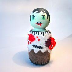 Mini Zombie Peg Doll | Flickr - Photo Sharing!