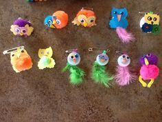 Girl Scout owl swaps