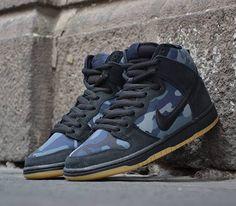 Nike SB Dunk High-Obsidian Camo