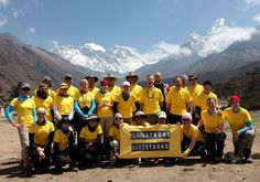 LiveStrong Trek to Mt Everest: 14 cancer survivors trained at the Healthy Living Center, Clive IA for their trek to the base camp of Mt. Everest this year. The team for next year's ascent was training at the HLC early this AM. What an inspiration : )  #Live_Strong #Iowa #Mt_Everest #Healthy_Living_Center