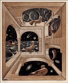 M.C. Escher – Other World
