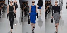 fashion fall  2013 tailored trend  | ... tailored, elegant versions, and so did MK, offering up pieces for both