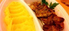 Meniuri de prânz bune și ieftine la Casa Vizentini Mashed Potatoes, Ethnic Recipes, Food, Whipped Potatoes, Smash Potatoes, Essen, Meals, Yemek, Eten