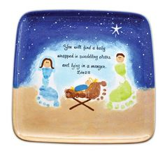 Nativity Scene idea for Lydia! Preschool Christmas, Christmas Nativity, Christmas Crafts For Kids, Christmas Activities, Christmas Projects, Preschool Crafts, Winter Christmas, Holiday Crafts, Holiday Fun