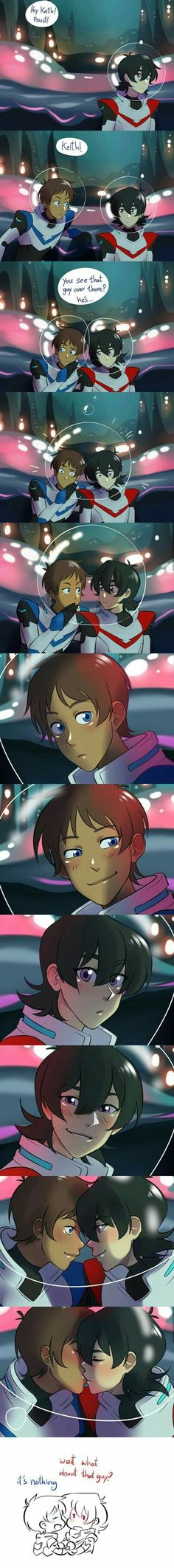 omg this is so fucking sweet!! -a Voltron Klance, Voltron Comics, Voltron Fanart, Form Voltron, Voltron Ships, Keith Lance, Anime, Random, Cartoons