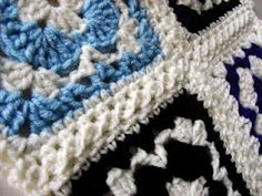 """Joining with a technique called """"flat braid crochet"""". There is a link to a video tutorial."""