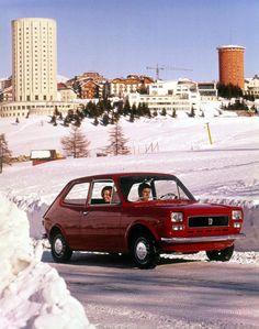 Fiat 127 die had mijn broer alleen in het groen.