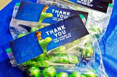 The Good Dinosaur Candy Bag Toppers