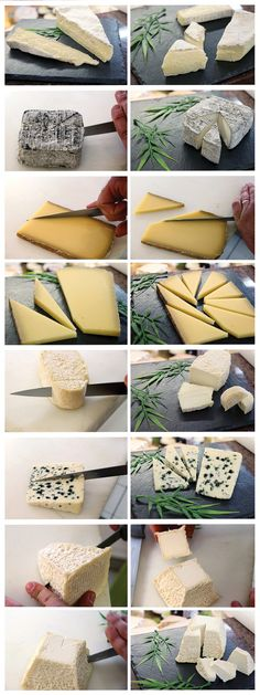 Découvrez comment bien découper votre fromage ! http://www.foodette.fr/le-savoir-faire-des-artisans/comment-decouper-le-fromage/
