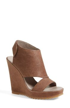 Vince Camuto 'Gevara' Leather Platform Wedge (Women) available at #Nordstrom
