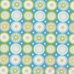 Dena Designs Kumari Garden Lalit Blue [FS-DF94-Blue] - $5.95 : Pink Chalk Fabrics is your online source for modern quilting cottons and sewing patterns., Cloth, Pattern + Tool for Modern Sewists