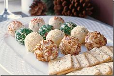 Remodelaholic Holiday Cheese Balls  remodelaholic.com #appetizers #recipe #party